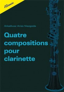 Quatre compositions pour clarinette