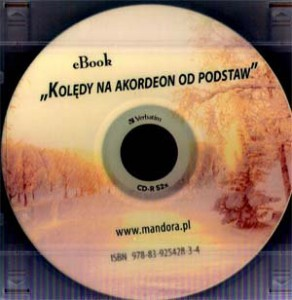 Kolędy na akordeon od podstaw (DVD + CD)