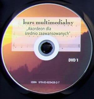 Akordeon dla średnio-zaawansowanych (2 x DVD)