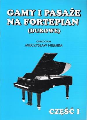 Gamy i pasaże na fortepian (durowe)
