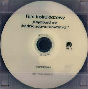 Keyboard dla średnio-zaawansowanych (DVD+CD)