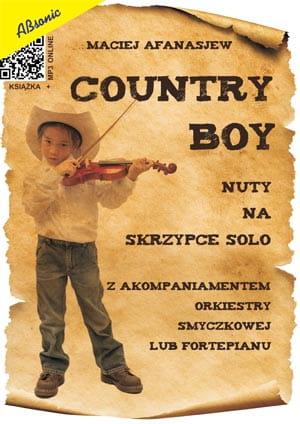 Country Boy - nuty na skrzypce solo z akompaniamentem orkiestry smyczkowej lub fortepianu